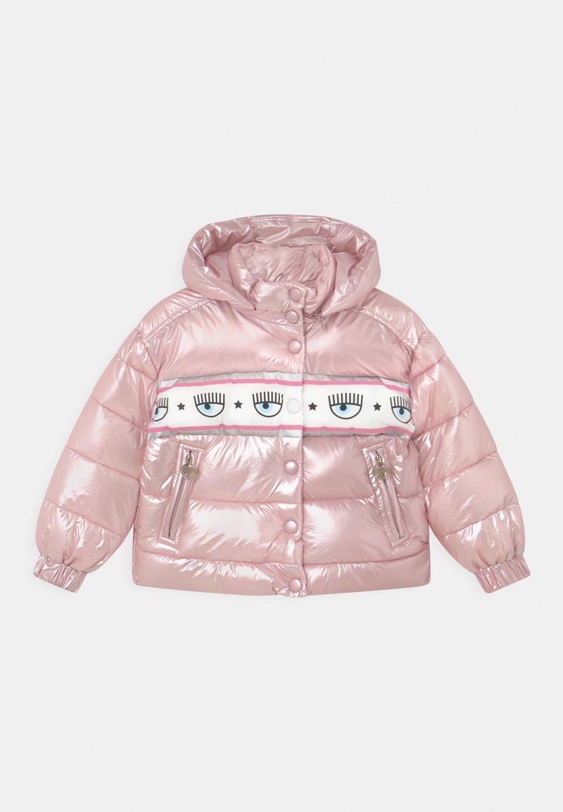 CHIARA FERRAGNI - BANDA MAXI - Winter jacket - rosa fairy tail