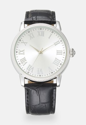 ROMAN NUMERALS WATCH - Rannekello - black