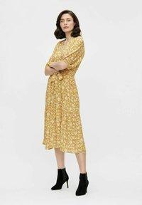 Object - Day dress - honey mustard - 1