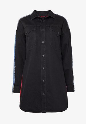 LIFIE DRESS - Denim dress - black