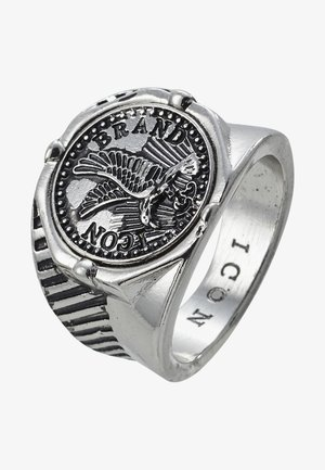 EAGLECOIN SIGNET - Ringe - silver-coloured