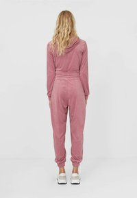 Stradivarius - Tracksuit bottoms - rose - 2