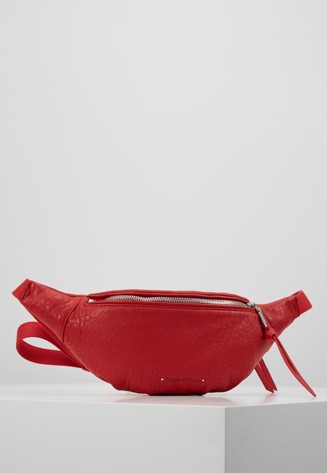 Bum bag - lipstick red