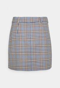 Gina Tricot - SAGA SKIRT - Mini skirt - blue - 6