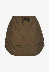 Han Kjøbenhavn - LAYER SKIRT - A-line skirt - dusty brown - 3