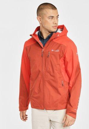 TITAN - Waterproof jacket - carnelian red