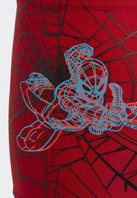 adidas Performance - BOYS MARVEL SPIDER-MAN SWIM BRIEFS - Uimahousut - red - 3