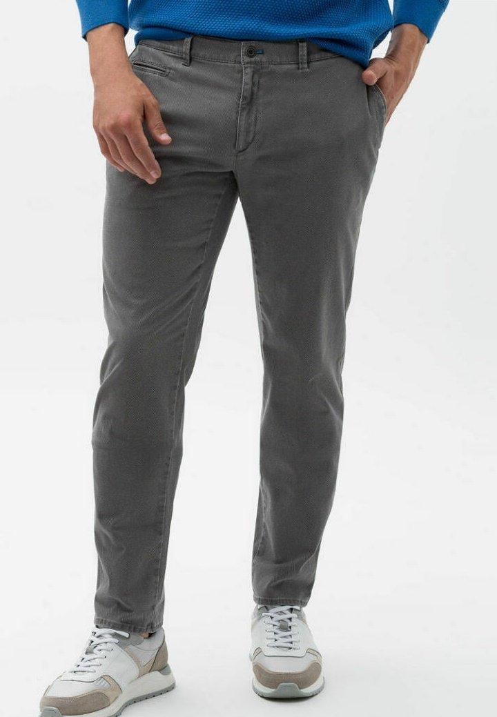 BRAX - STYLE FABIO - Trousers - graphit