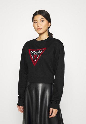 TRIANGLE - Sweatshirt - jet black