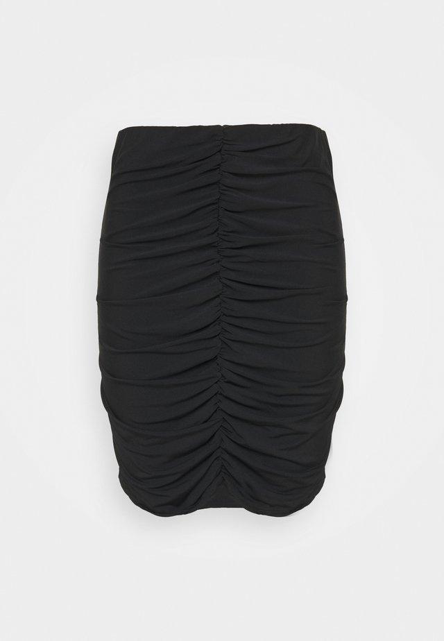 VMKALISA SKIRT - Spódnica mini - black