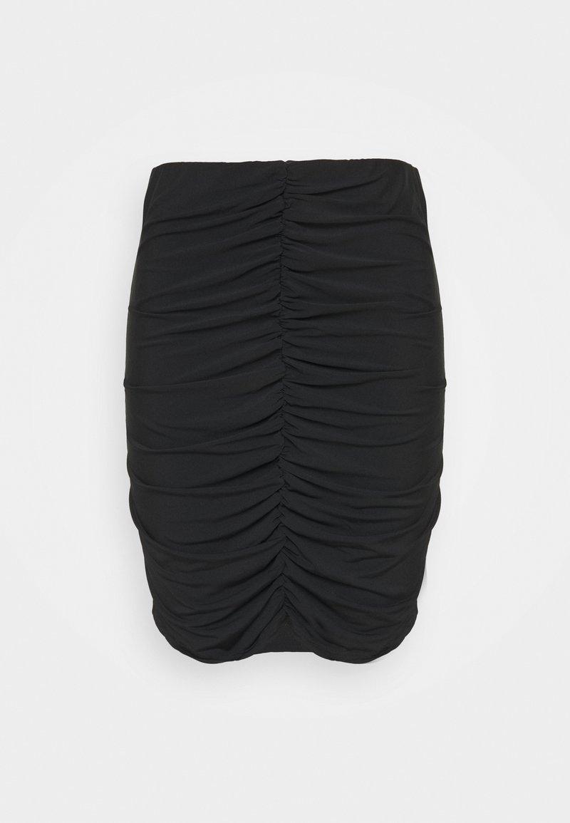 Vero Moda Curve - VMKALISA SKIRT - Mini skirt - black