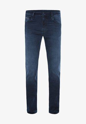 Slim fit jeans - blue/black