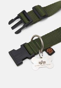 Alpha Industries - BASIC DOG TAG COLLAR UNISEX - Other accessories - dark olive - 2