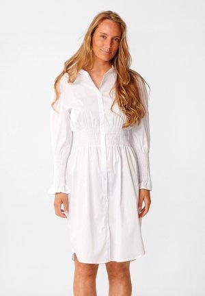 DANIELLE - Shirt dress - white