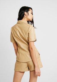 Lost Ink - SHIRT - Overhemdblouse - beige - 2