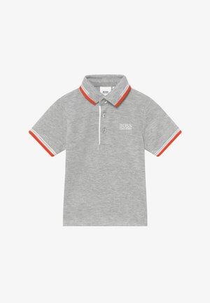 SHORT SLEEVE - Polo - gris chine