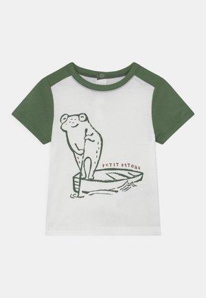 Print T-shirt - marshmallow/vallee