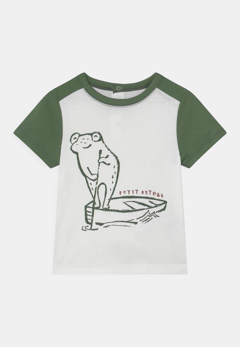 Petit Bateau - Print T-shirt - marshmallow/vallee