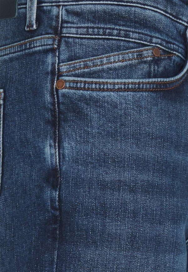 Marc O'Polo DENIM 5 POCKET - Jeansy Zwężane - multi/greenish dark blue/niebieski denim Odzież Męska QVMK