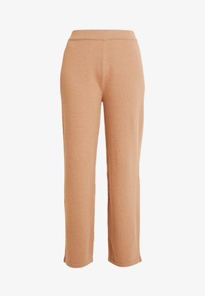 HEAVY PANTS STRAIGHT LEGS - Pantaloni - pure camel