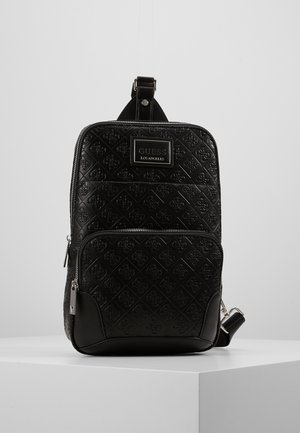 DAN LOGO CROSSOVER BACKPACK - Rucksack - black