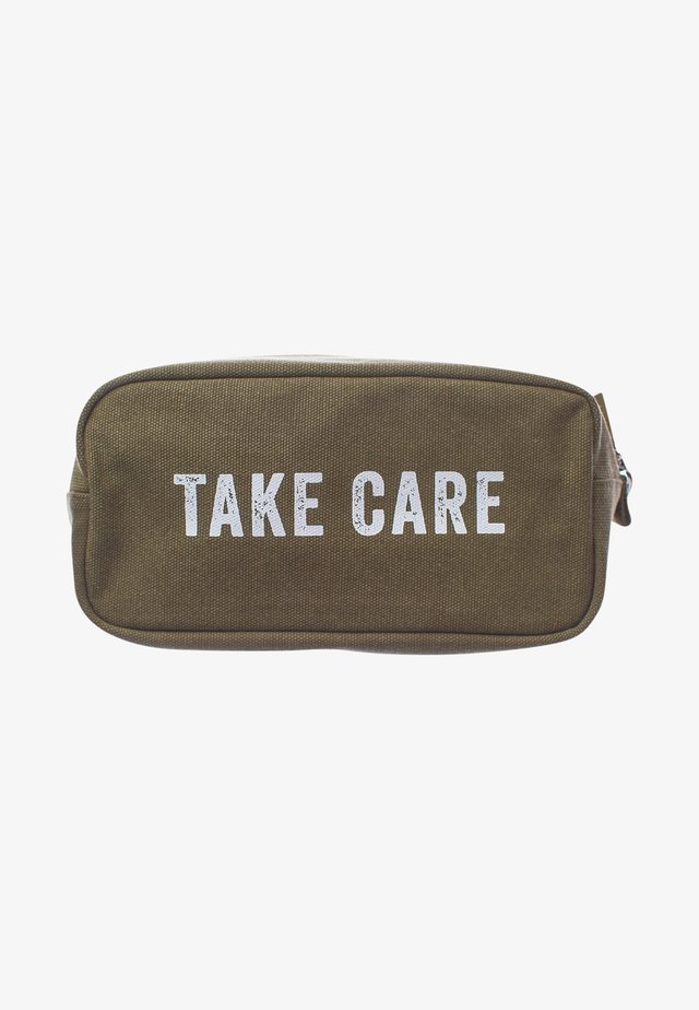 WASH BAG - Kosmetiktasker - take care