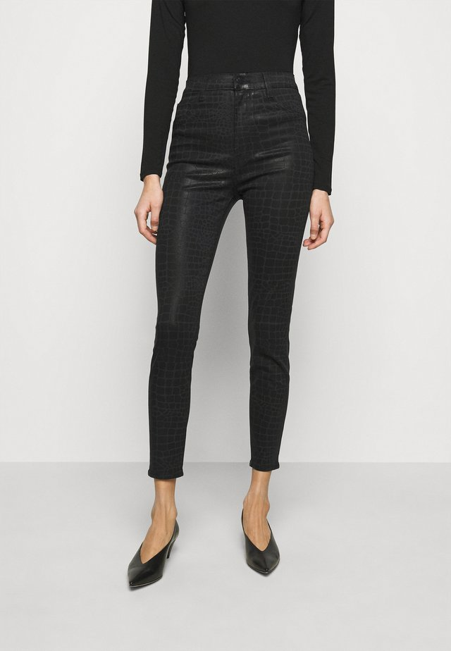 LEENAH HIGH RISE ANKLE SKINNY - Jeansy Skinny Fit - caiman