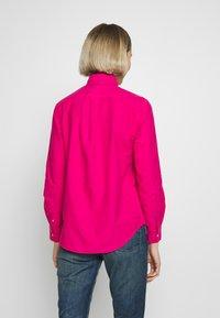 Polo Ralph Lauren - RELAXED LONG SLEEVE SHIRT - Button-down blouse - accent pink - 2