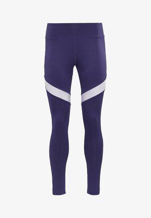 MESH WORKOUT READY REECYCLED LEGGINGS - Legging - purple