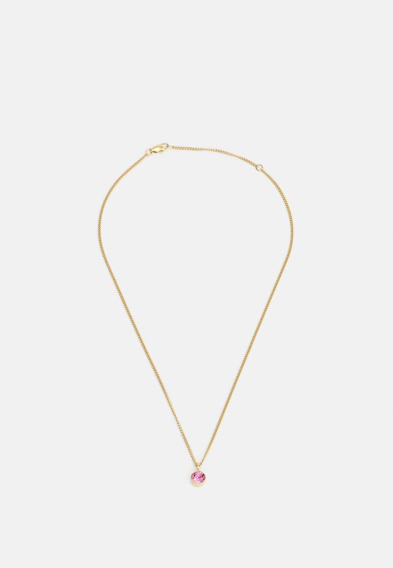 Dyrberg/Kern - JEMMA NECKLACE - Necklace - pink