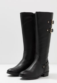 Dorothy Perkins - KIKI BELLOWS RIDING  - Cowboy/Biker boots - black - 4