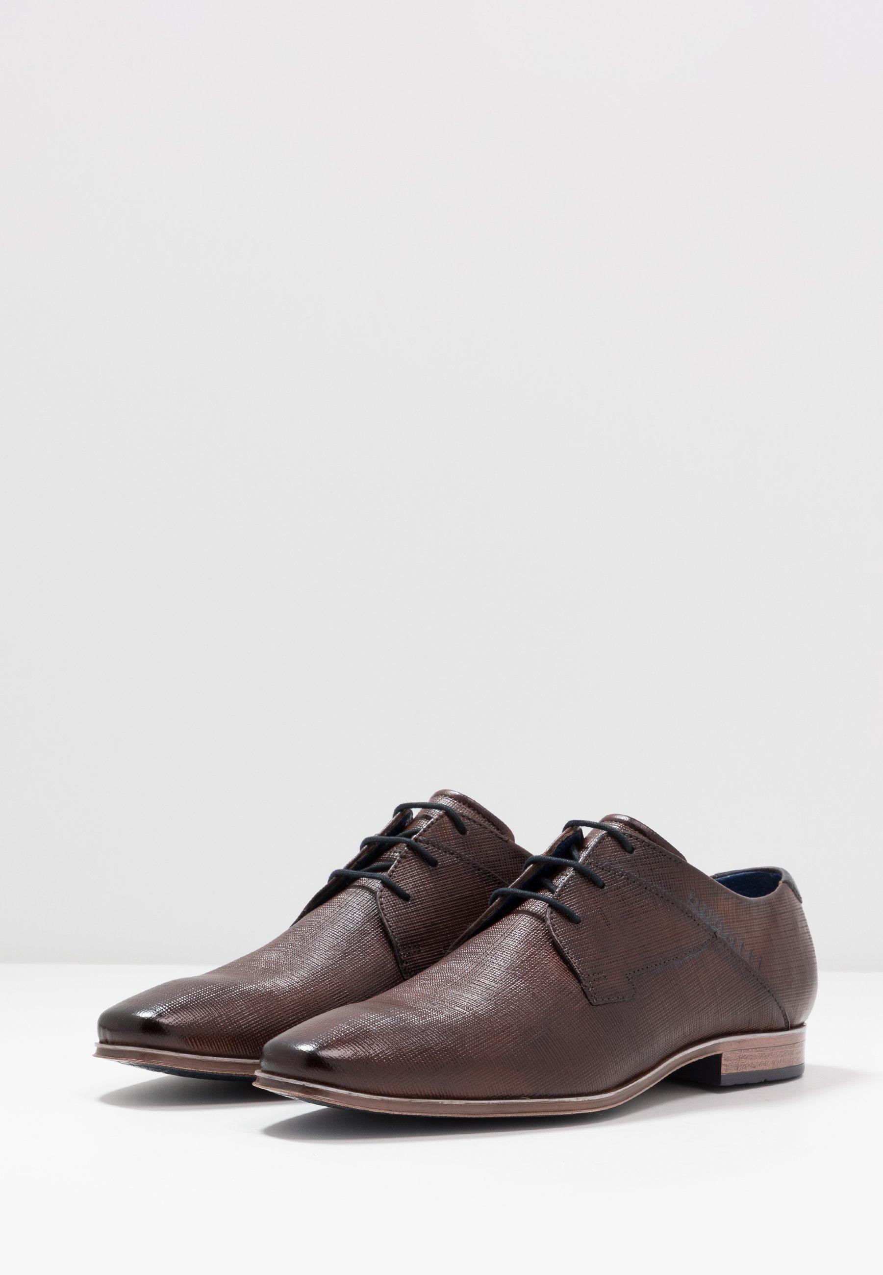 Offerta limite a buon mercato Scarpe da uomo Bugatti MORINO Stringate eleganti brown