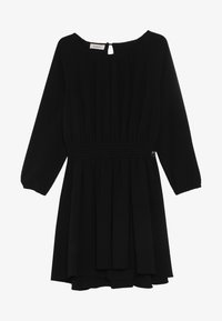 Pinko Up - ADDESTRATORE ABITO GEORGETTE - Cocktail dress / Party dress - black - 3