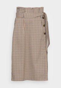 ULLA SKIRT - A-line skirt - brown