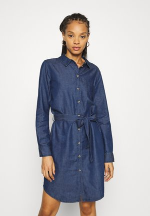 JDYESRAN DRESS  - Vestido vaquero - dark blue denim