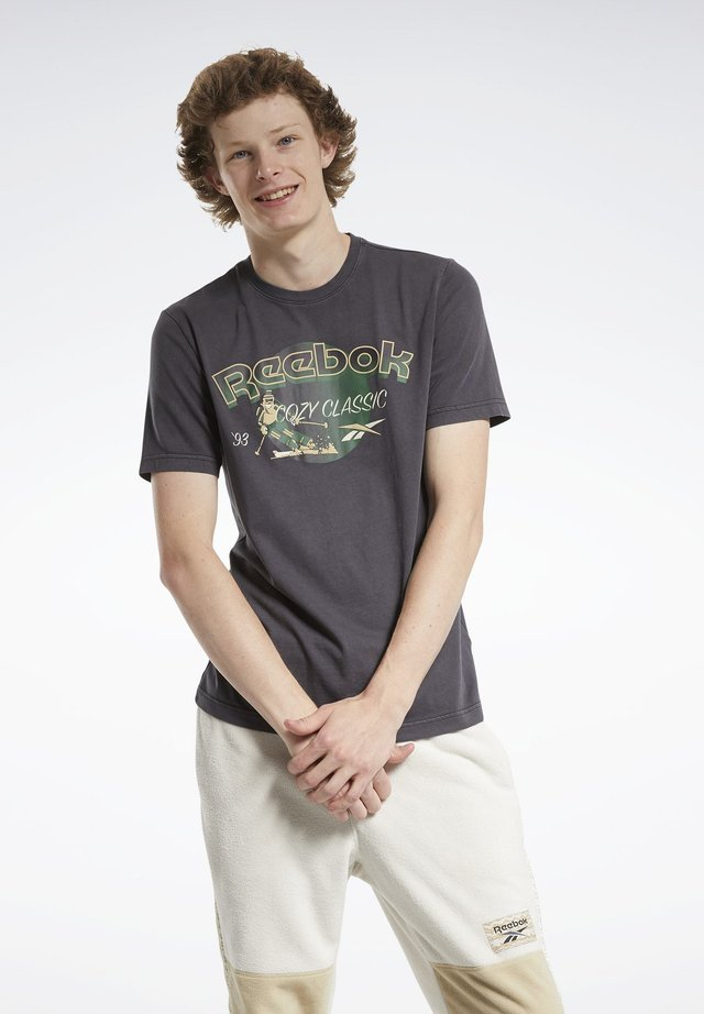 CL GP WE TEE - T-shirt con stampa - black