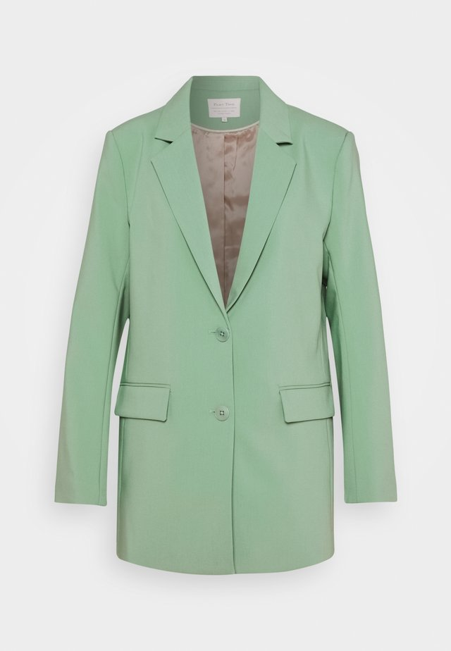Manteau court - granite green