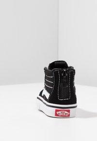 Vans - TD SK8 ZIP - Chaussures premiers pas - black/white - 4
