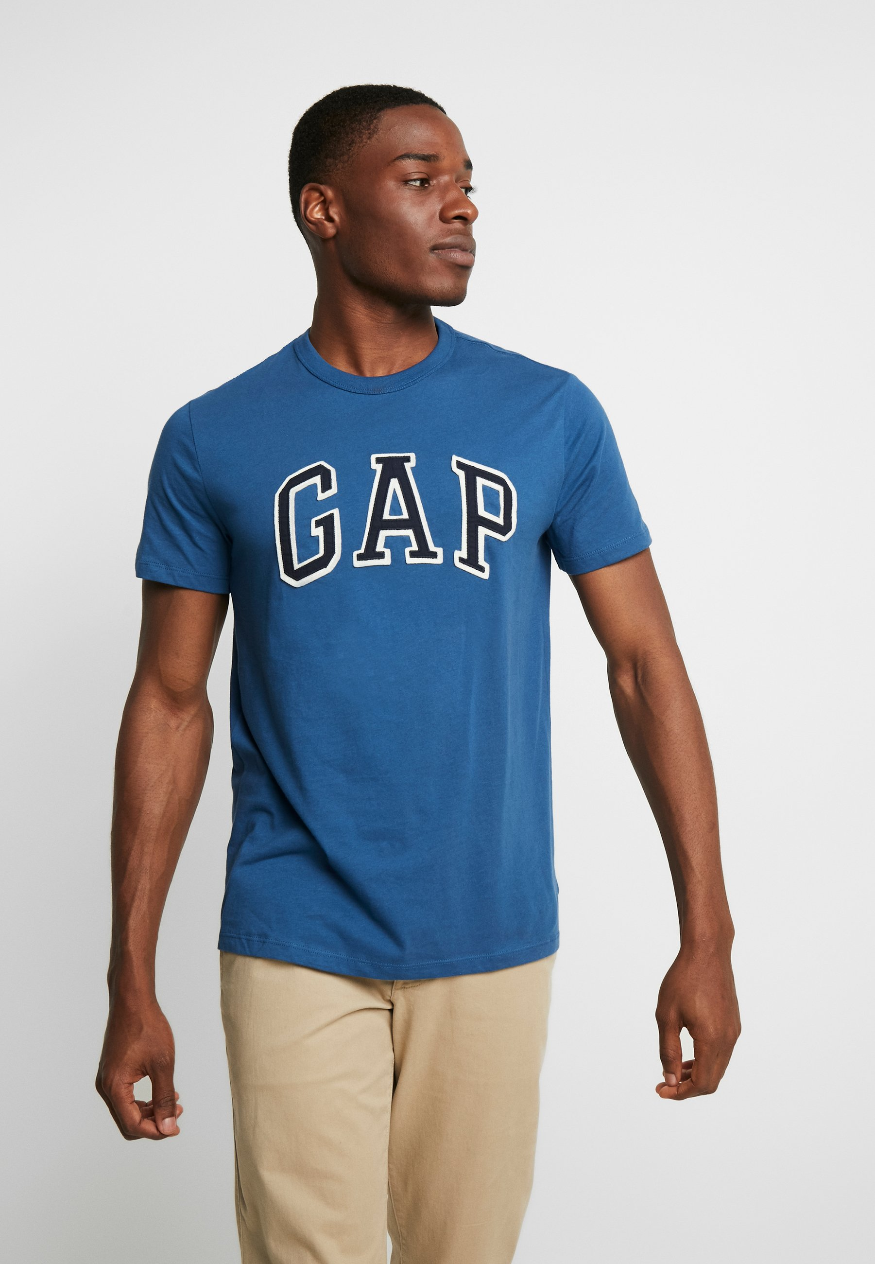 GAP BAS ARCH - T-shirts med print - white
