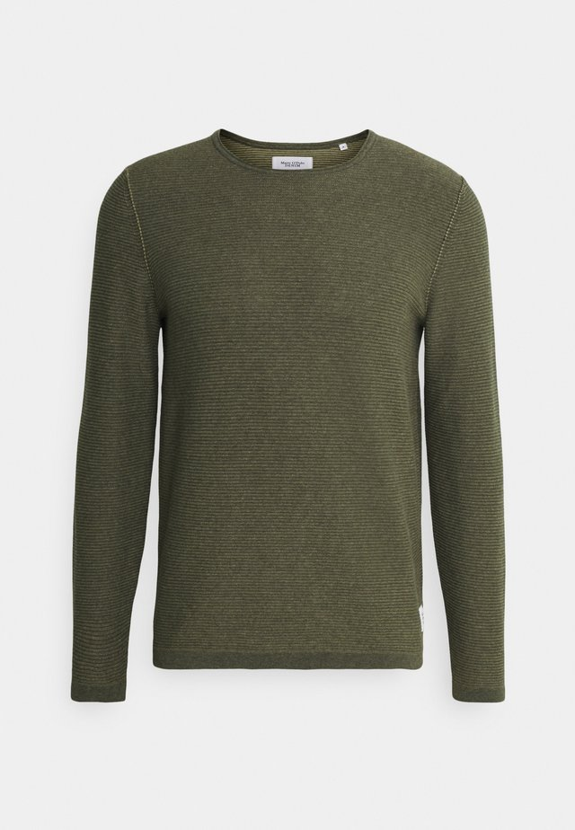 ROUND NECK AND HORIZO - Jumper - multi/deep depth