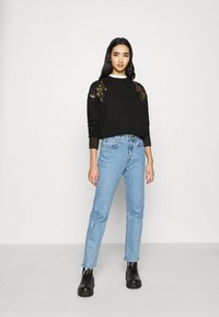 Scotch & Soda - WITH FLAME PATTERN - Jumper - black - 1