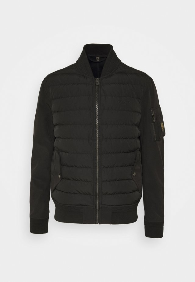 MANTLE JACKET - Gewatteerde jas - black