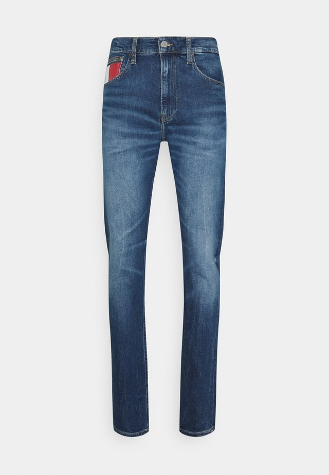 RELAXED TAPERED - Relaxed fit jeans - blue denim