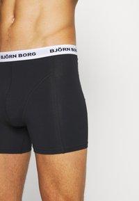 Björn Borg - SOLID SAMMY 7 PACK - Underkläder - black - 4