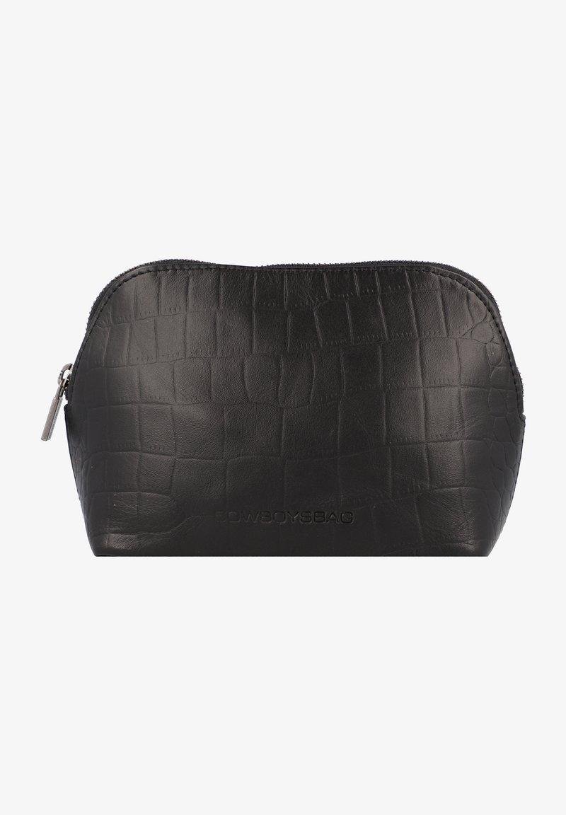 Cowboysbag - Wash bag - croco black