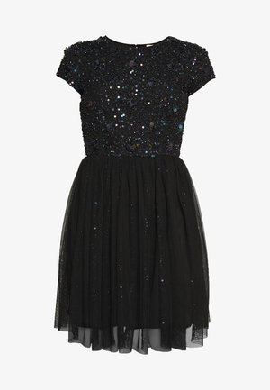 NESSIA - Cocktail dress / Party dress - black iridescent