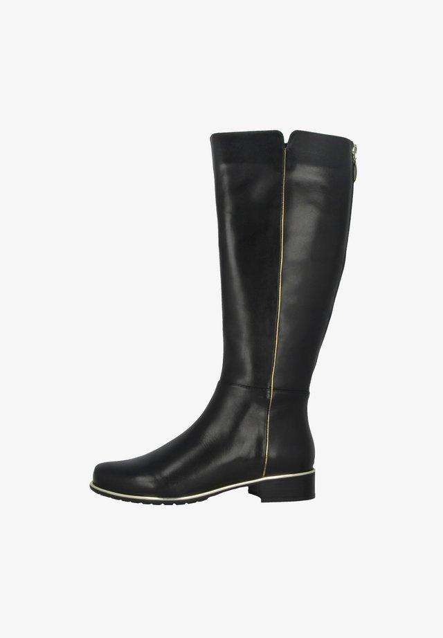 CALLA - Boots - black-gold