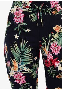 s.Oliver - LEICHTE STOFFHOSE - Leggings - Trousers - navy aop flowers - 2
