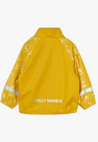 Helly Hansen - BERGEN RAIN SET - Regnjakke / vandafvisende jakker - essential yellow - 3