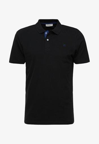 SLHLUKE SLIM FIT - Polo - black